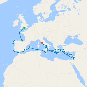 Grand European Explorer from Southampton