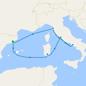 Spain & Italy from Barcelona