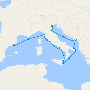 Italy Intensive Voyage from Venice