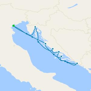 Croatia Intensive Voyage from Venice