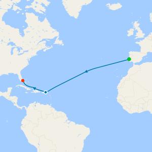Westward Quest Voyage from Lisbon