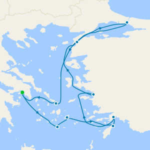 Eastern Mediterranean from Athens