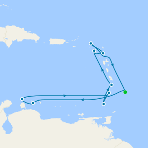 Eastern Caribbean from Barbados
