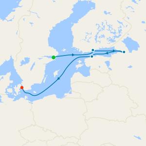 Stockholm to Copenhagen