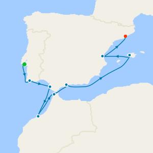 Lisbon to Barcelona