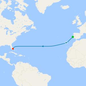 Lisbon to Fort Lauderdale
