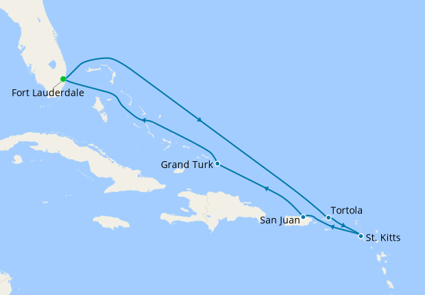 Eastern Caribbean Explorer from Ft. Lauderdale