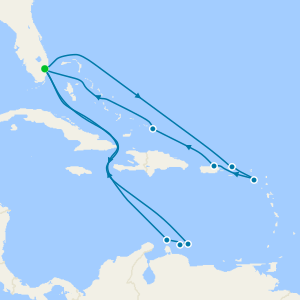 Caribbean Southern Adventurer from Ft. Lauderdale