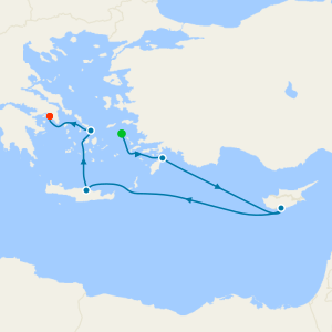 Venice to Athens