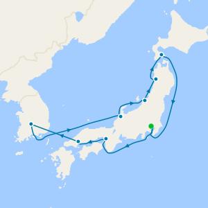 Japan & Korea from Tokyo
