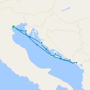 Croatia & Montenegro from Venice