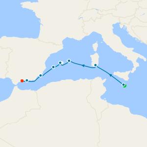 Malta, Balearics & Spain from Malta