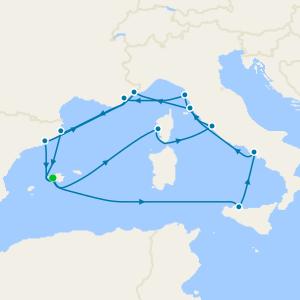 Cosmopolitan Classics & Highlights of the Mediterranean from Majorca