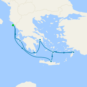 Aegean Shores from Corfu