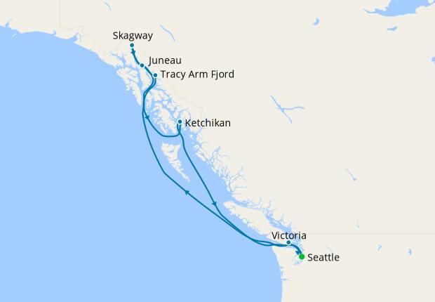 Alaska from Seattle