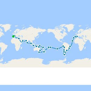 World Cruise from Barcelona