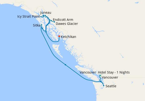 Scenic Cruising - Inside Passage