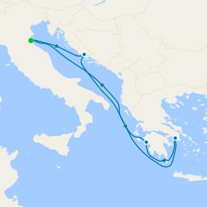 Greek Isles & Croatia from Ravenna