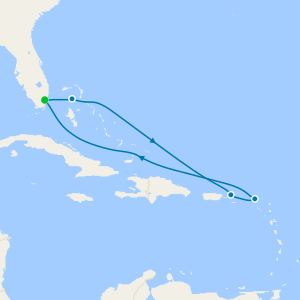 Eastern Caribbean with Perfect Day from Miami