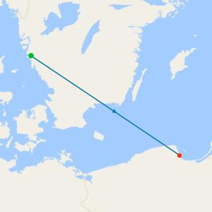 Southampton to Hamburg Sampler Voyage