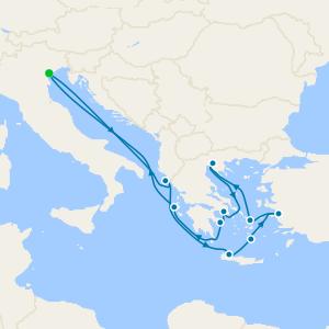 Turkey & Best of Greek Islands from Venice