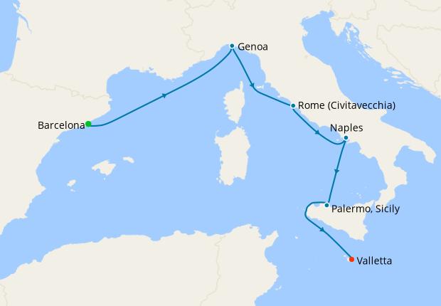 Spain, France & Italy from Majorca, 9 July 2021 | 7 Nt ...