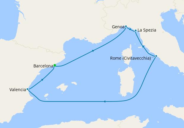 Spain, France & Italy from Barcelona, 4 September 2021   7 ...