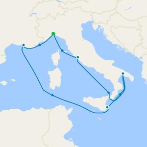 Italy & Malta from Genoa