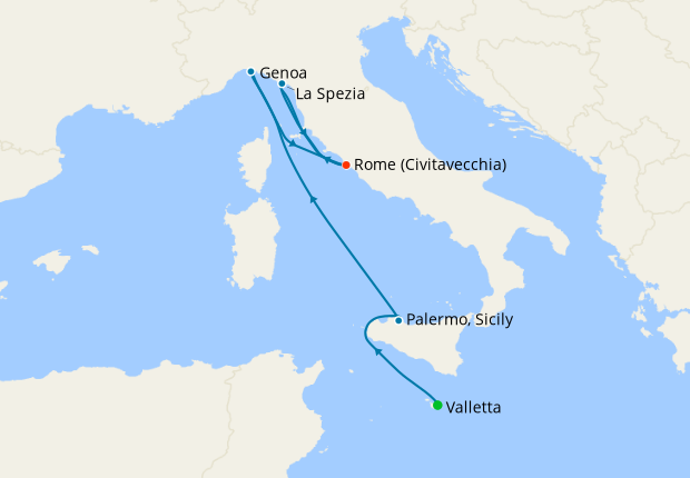Italy, Spain & France from Rome, 21 April 2021   7 Nt ...