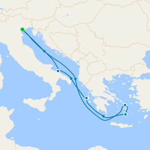 Italy & Greece from Venice