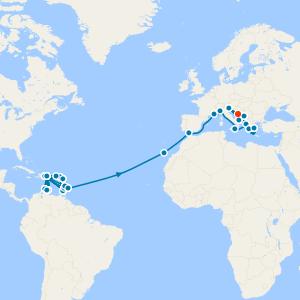 World Cruise from Savona