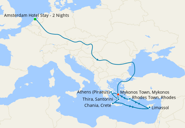 Western Mediterranean From Amsterdam With Stay 30 August 2021 14 Nt Jewel Of The Seas 30 August 2021 Royal Caribbean Iglucruise
