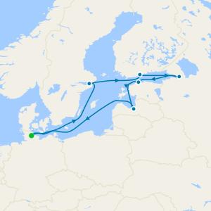 Baltic Sea from Kiel