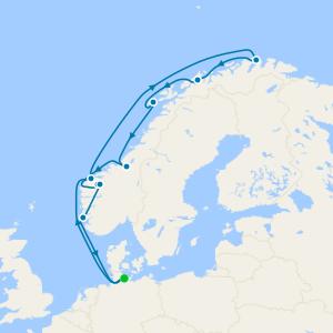 Norwegian Fjords from Kiel