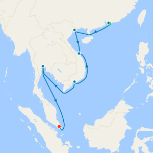 Vietnam & Thailand from Hong Kong with Stays