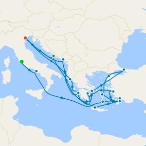 Greek Odyssey & Mediterranean Empires from Rome
