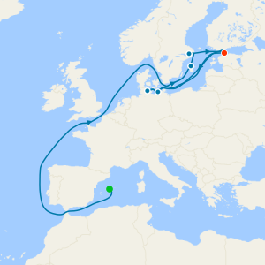 Spain, France & Italy from Majorca with Palma Stay