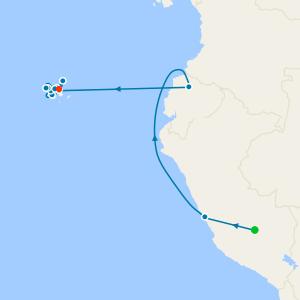 Machu Picchu Adventure + Galápagos North, West & Central Islands