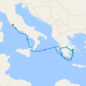 Ionian sea Adventure from Athens