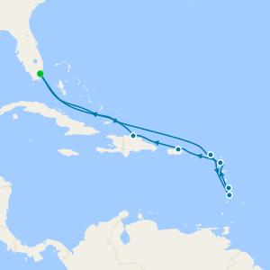 Atlantic & Amber Gems - Miami Roundtrip