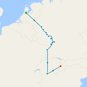 Rhine Cruise & Glacier Express