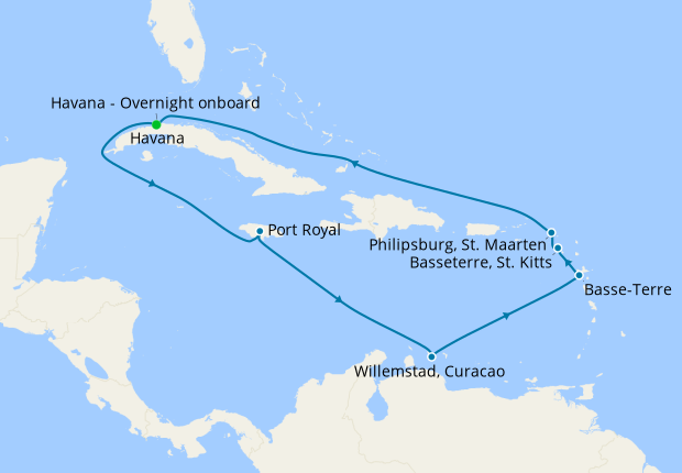 Uncrowded Caribbean Islands with Havana