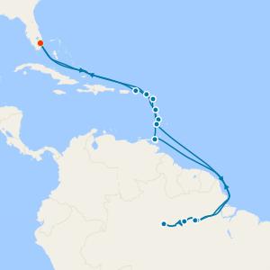 Amazon Explorer - Miami Roundtrip with Stay
