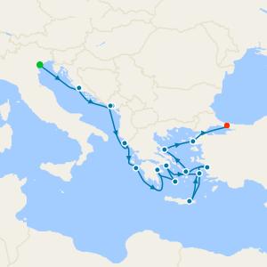 Golden Greek Isles & Ephesus from Venice
