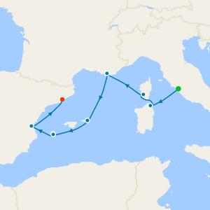 Golden Mediterranean Isles from Rome
