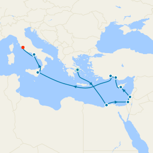 Ancient Wonders Voyage from Athens with Stay