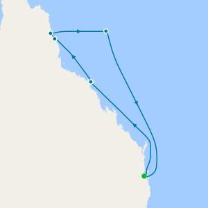 Great Barrier Reef from Brisbane