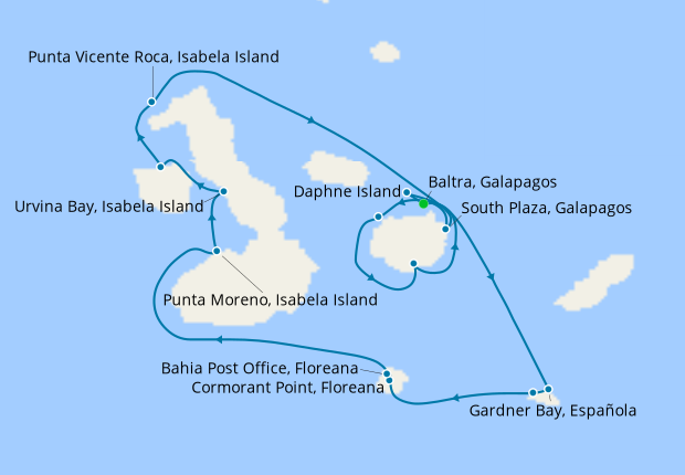 Galapagos Outer Loop Explorer with Quito Stays
