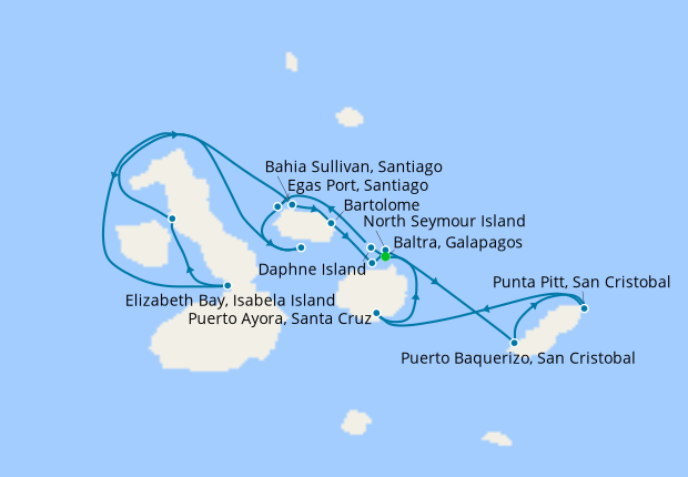Galapagos Inner Loop Explorer with Quito Stays