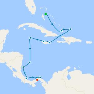 Caribbean Sea – Hidden Highlights and sailing through the Panama Canal